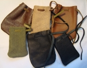 Leather Storage Pouch