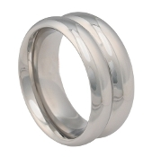 Premium Double Magnum Stainless Steel Cock Ring