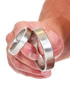 60 Degree Stainless Steel Cock Ring Cage