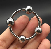 Four Ball Orbital Glans Head Ring