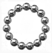 Solid Chrome Power Bead Cock Rings