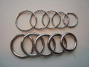 Classic Stainless Steel Wire Glans Head and Shaft Rings