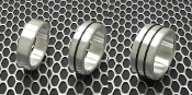 Brushed Aluminum Head/Shaft Rings
